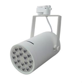 18W 白色 LED 路軌燈