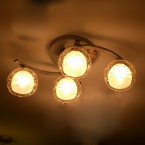 鋁材4頭 吸頂燈