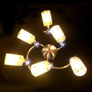 6頭 鋁材 防鏽 現代吸頂燈