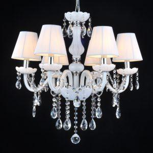 白色蠟燭水晶燈 多尺寸可選