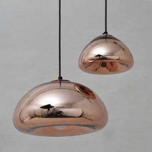 名師設計 電鍍玻璃 吊燈