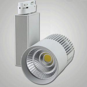 新款LED 聚光效果 路軌射燈
