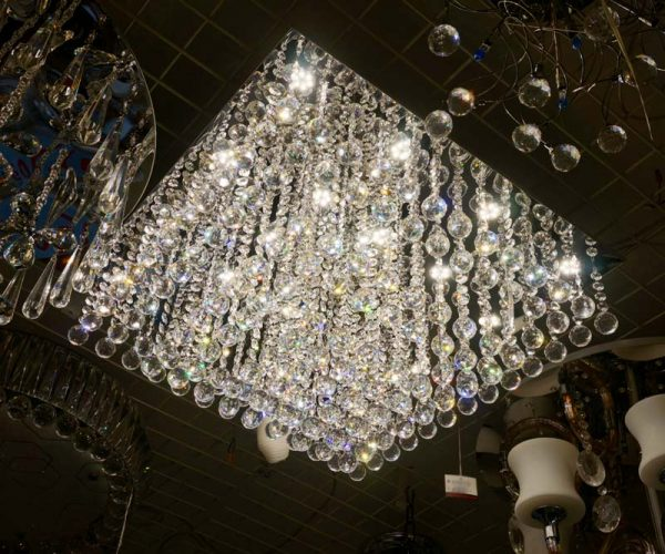四方LED 水晶矩陣60cm吸頂燈 可工程訂造