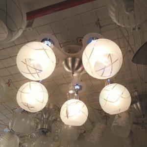 5頭現代鋁材LED效果 吸頂燈