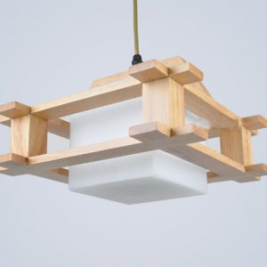 天然風格 日本和風 小木屋 吊燈