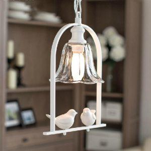 出口款式 白色鴛鴦設計 吊燈