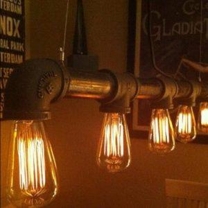 懷舊設計 商店 咖啡店用 吊燈