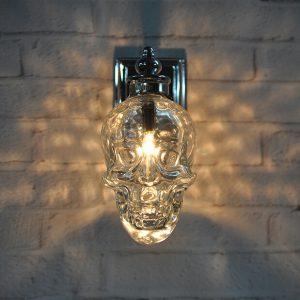 特色設計 玻璃人頭 壁燈