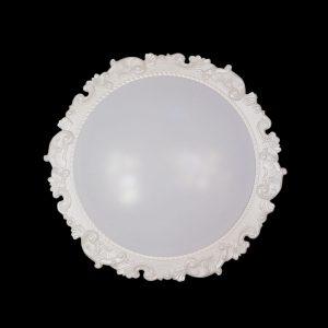 LED 遙控 調光調色 歐式花紋吸頂燈
