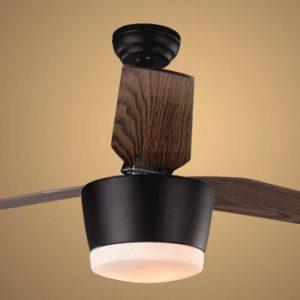 自然風格 木紋葉 LED 3葉 風扇燈