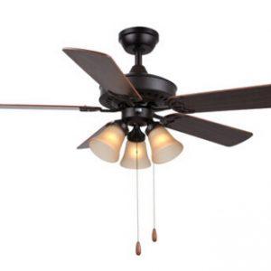 古典風格 帶遙控 5葉 風扇燈