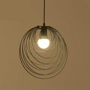 現代簡約黑色吊燈