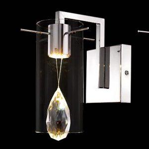 現代簡約水晶壁燈