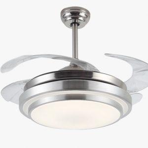 $1380特價 隱形風扇燈 吊扇可伸縮扇葉 LED遙控30吋/36吋/42吋