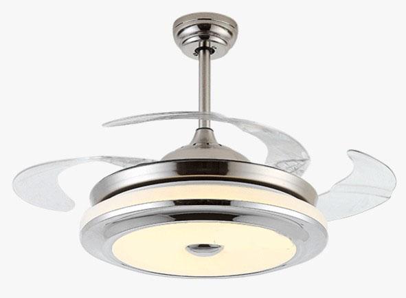 隱形風扇燈 可伸縮扇葉 36吋/42吋 銀色金色可選