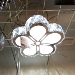 花形LED 水晶吸頂燈 雙色分段