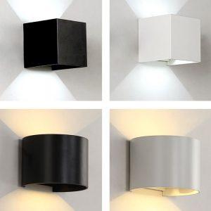 LED 壁燈 浴室專用 防水氣 黑/白色可選