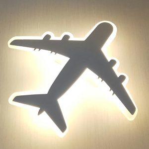 LED 飛機兒童房燈壁燈