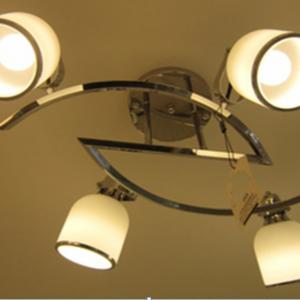 簡約 4頭吸頂燈  可調角度燈罩