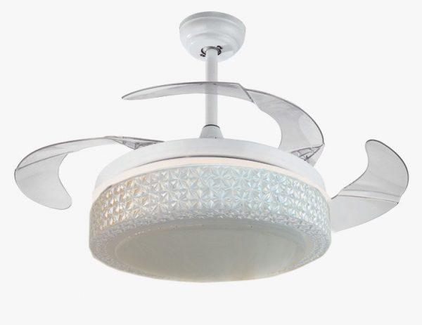 隱形風扇燈 獨家款式 彷水晶效果 36吋/42吋吊扇