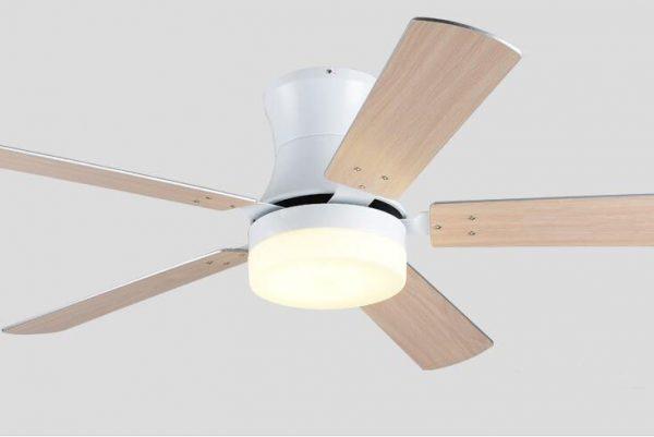 低樓底專用吸頂款式 總高31cm 木葉風扇燈吊扇 多尺寸可選