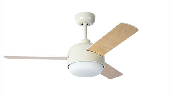 風扇燈 現代自然風格木紋葉LED 42吋吊扇