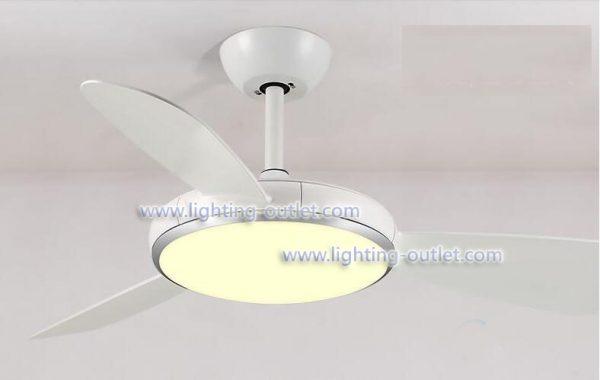 變頻風扇燈 低樓底超薄節能 LED42吋/52吋吊扇 白/深啡/淺藍/黑 4色可選