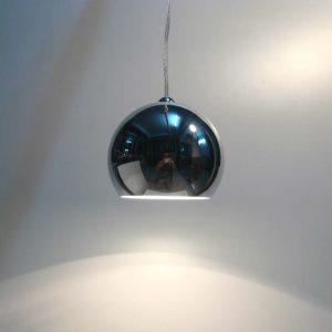 單頭150mm電鍍球小吊燈