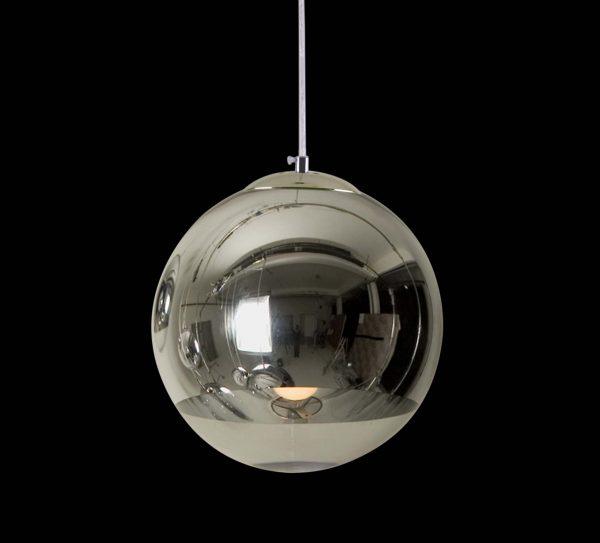 現代設計銀色球吊燈 多尺寸可選