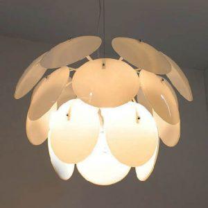 玻璃松果吊燈