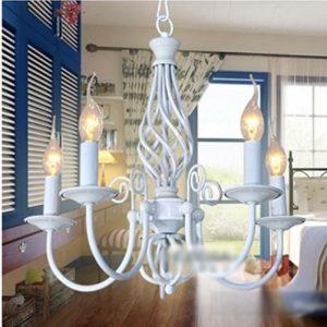 五頭蠟燭餐廳吊燈