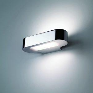 鏡面電鍍效果簡約設計鋁材壁燈