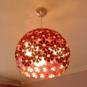 鋁材現代造型吊燈