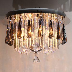 4頭LED水晶吸頂燈