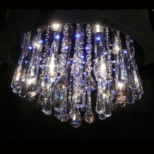 LED 水晶吸頂燈