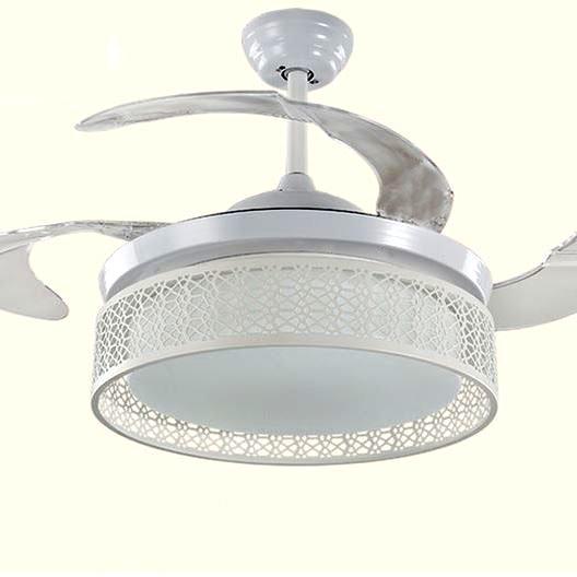 隱形風扇燈 可伸縮扇葉 現代簡約款式