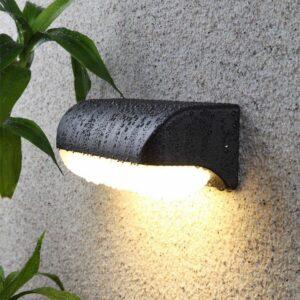 防水壁燈 LED 現代簡約6W 長方超薄設計 黑色 暖光 白光可選